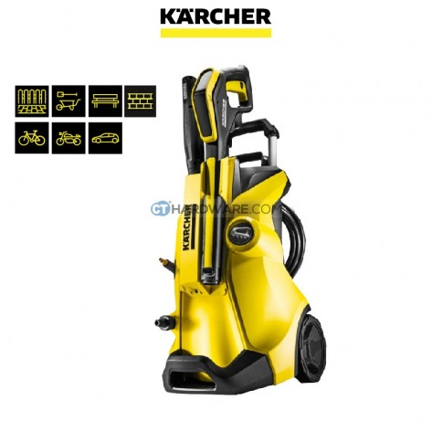 karcher k4 premium full control high pressure washer 130bar online hardware store in malaysia. Black Bedroom Furniture Sets. Home Design Ideas