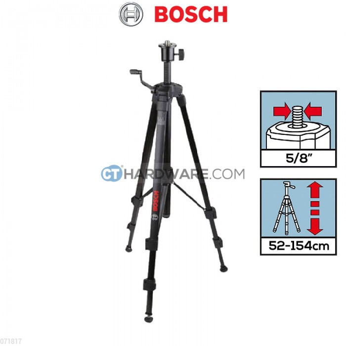 bosch bt 150 5 8 professional building tripod powertools tools malaysia 39 s top choice. Black Bedroom Furniture Sets. Home Design Ideas
