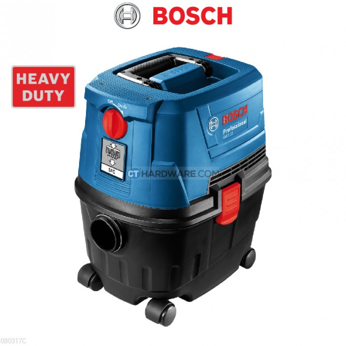 Bosch Gas15ps Wet Amp Dry Extractor Professional Malaysia