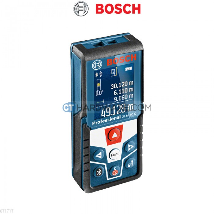bosch glm50c professional 50m colour display laser rangefinder bluetooth connect malaysia 39 s. Black Bedroom Furniture Sets. Home Design Ideas