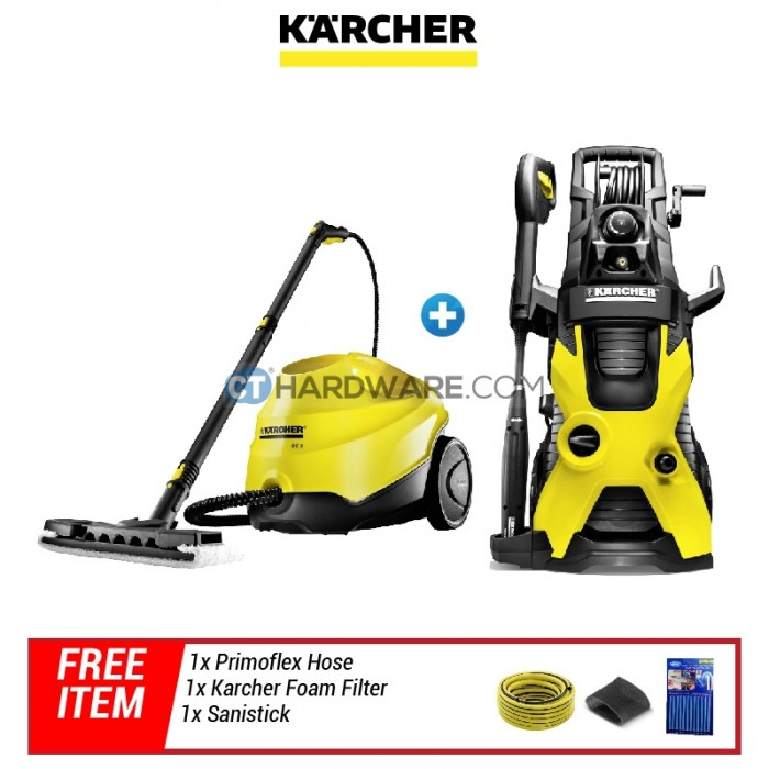 karcher k5premium high pressure sc3 steam vacuum free gift malaysia 39 s top choice for. Black Bedroom Furniture Sets. Home Design Ideas