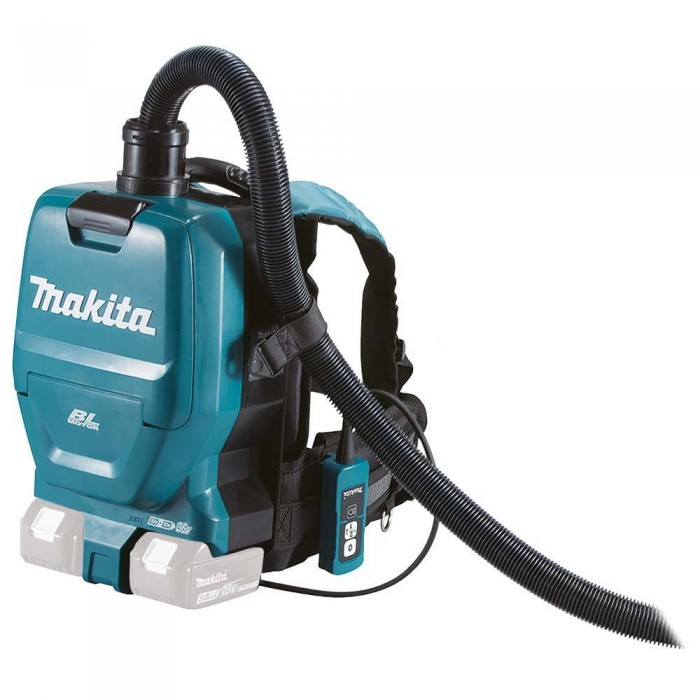 Makita Dvc260zx Cordless Twin 18v Backpack Vacuum Cleaner