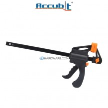 """Accubit 250mm (10"""") Portable Quick Woodworking Clamp Plastic for DIY"""