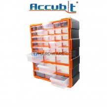 Accubit G1502 Plastic Drawer Box (39 pcs)