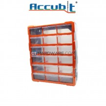 Accubit G1506 Plastic Drawer Box (18pcs)