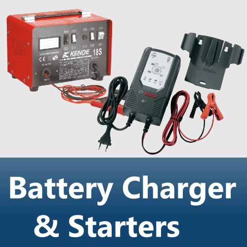 Battery Charger & Starters