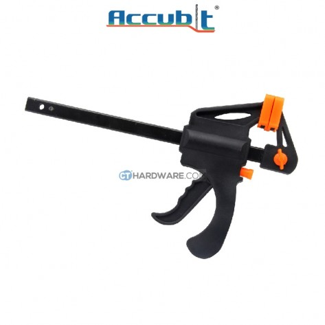 """Accubit 150mm (6"""") Portable Quick Woodworking Clamp Plastic for DIY"""