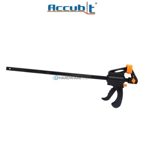 """Accubit 450mm (18"""") Portable Quick Woodworking Clamp Plastic for DIY"""
