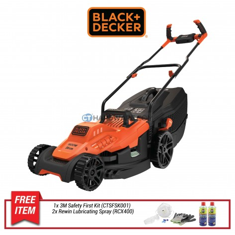 BLACK & DECKER BEMW471BH ROTARY LAWNMOWER