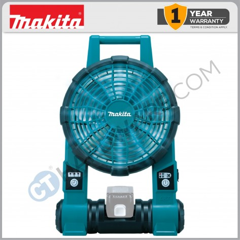 MAKITA DCF201Z Cordless Job Site Fan 18V/14.4V (Tool Only, No Charge & Battery)