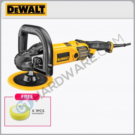 "DeWALT DWP849X 180mm (7"") 1250w Polisher"
