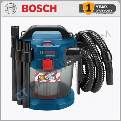 Bosch GAS 18V-10 L SOLO Cordless Dust Extractor (Without Battery & Charger)