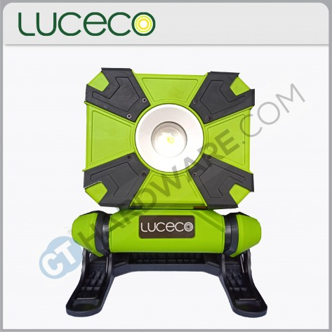 LUCECO LCWR9G60 Rechargeable Mini Clamp Work Light 10W (USB Charging)