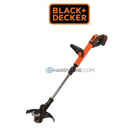 Black+Decker STC1820PC Cordless String Trimmer 18V 2.0AH C/W 1 Battery& 1 Changer