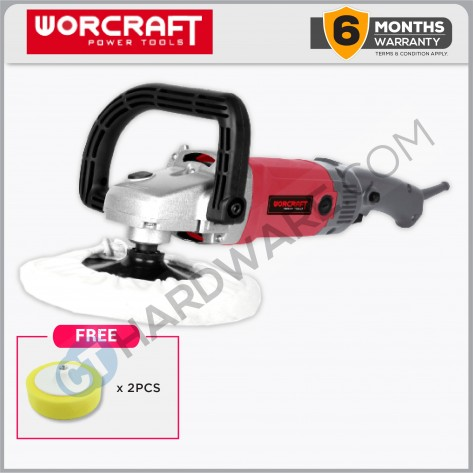 "Worcraft CP12180 Car Polisher 7"" 1200W"