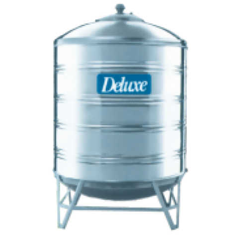 Deluxe CL25K Water Storage Tanks Vertical With Stand