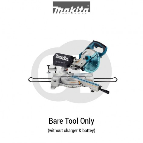 "MAKITA DLS713Z 190MM (7-1/2"") CORDLESS SLIDE COMPOUND MITER SAW (LXT SERIES)"