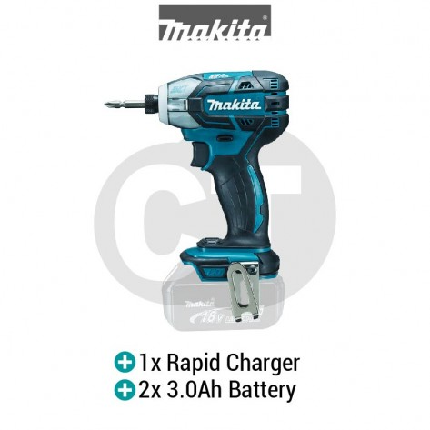 MAKITA DTS141RFE 18V XPT CORDLESS OIL-PULSE DRIVER WITH BRUSHLESS MOTOR (LXT SERIES)