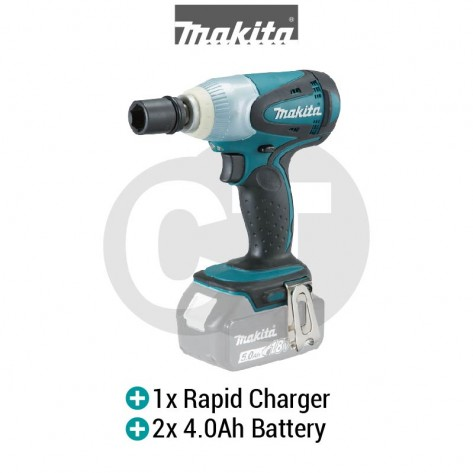 MAKITA DTW251RME 18V 1/2-inch 230Nm Cordless Impact Wrench (LXT SERIES)