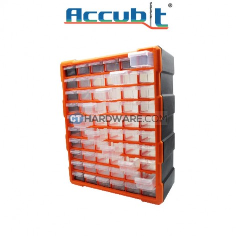 Accubit G1505 Plastic Drawer Box (60 pcs)
