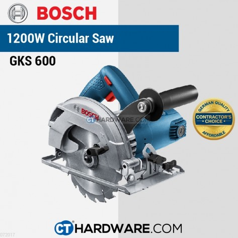 "BOSCH CIRCULAR SAW 165MM 1200W 5200RPM 06016A90L0 (6-1/2"")"