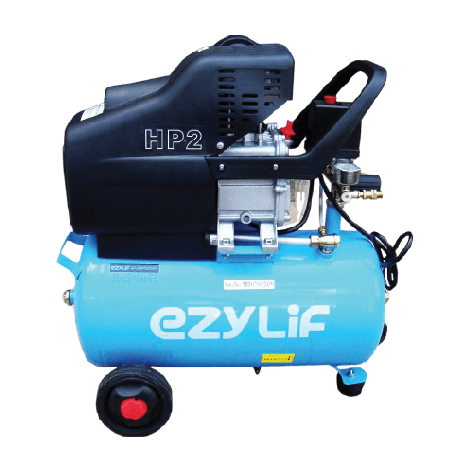 Ezylif Air Compressor 2HP Single Cylinder 24L Tank
