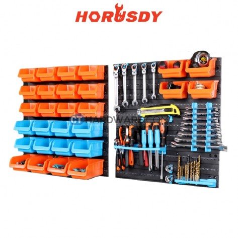 Horusdy SDY97906 Plastic Storage Box (1 Box got 43pcs)