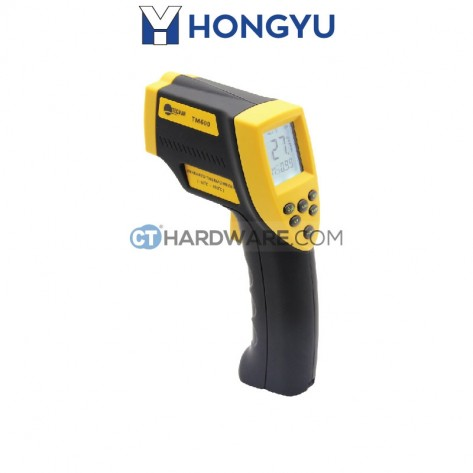 Hong Yu TM600 Tecman Infrared Thermometer 9V -50 Degree To 700 Degree 12:1 Optics