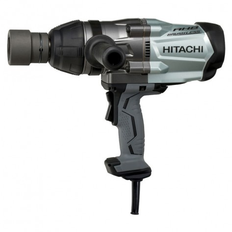 "Hitachi WR25SE Brushless Impact Wrench 1""Sq.Dr 1000 Nm 900W"