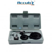 Accubit 11pcs Woodworking Hole Saw Kit Set