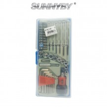 SunnyBy 19501036 Multi-Purpose Screwdriver & Hex Key 36 Pcs