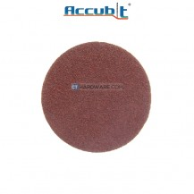 "Accubit 2490030080 Abrasive 80 Grit Velcro Sandpaper 100mm (4""), 5pcs-pack"
