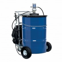 Graco 24J066 Mobile LD Series 50:1 Grease Pump Package 400# Cart NPT with Reel
