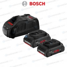 Bosch ProCore Starter Kit 18V C/W 2x 4.0Ah Battery 1x Charger (1600A016GG)