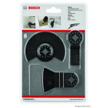 Bosch 3 Piece Multi-Tool Tiling Saw Blade Set 2608662342
