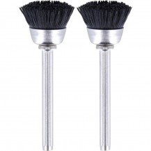 DREMEL CUP SHAPE BRISTLE BRUSH (FOR CLEANING / POLISHING) X 2PC #404