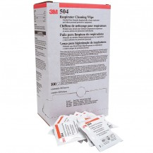 3M 504 Alcohol Free Respirator Cleaning Wipe