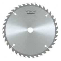"Hitachi 7 1/4"" (185mm) Wood Blade - 60T, 25.4mm Bore (402477)"