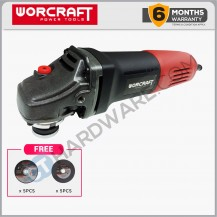 "WORCRAFT AG08-100 ANGLE GRINDER 4"" 750W 11000RPM (AG08100)"