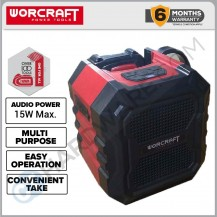 WORCRAFT CBTS-S20LI SOLO BLUETOOTH SPEAKER 20V 15W WITHOUT BATTERY & CHARGER (CBTSS20LISOLO)