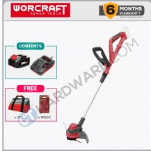 WORCRAFT CGTS20LISOLO Cordless Trimmer 20V 4.0Ah