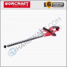 "Worcraft CHTS20LISOLO Cordless Hedge Trimmer 20V 22"" 1050/Min (NO BATTERY & CHARGER)"