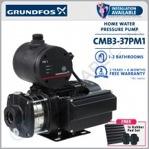 GRUNDFOS CMB 3-37 PM1 AUTOMATIC HOME PRESSURE BOOSTER WATER PUMP [ INSTALLATION AVAILABLE ]
