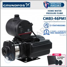 GRUNDFOS CMB 3-46 PM1 AUTOMATIC HOME PRESSURE BOOSTER WATER PUMP [ INSTALLATION AVAILABLE *CHARGES APPLY ]