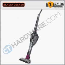 Black+Decker CS1830B-B1 18V Smart Tech Lithium-Ion 2in1 Stick Vacuum