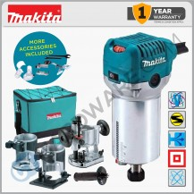 "MAKITA RT0700CX2 6MM (1/4""), 8MM (3/8"") TRIMMER"