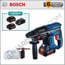 BOSCH GBH 180-LI Professional Cordless Rotary Hammer With SDS-Plus 18V Come With 4AH (GBH180LI4AH)