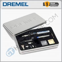 Dremel 2000 Butane Gas Torch c/w 6pcs Inter Changeable Tips (F0132000JA)