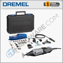 DREMEL DREMEL40004/65 (4000-65) ROTARY TOOL 175W C/W 4 ATTACHMENT & 65PC ACCESSORIES (F0134000JP)