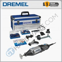 DREMEL ROTARY TOOL PLATINUM EDITION 175W ( 4000-6/128 ) F0134000KF C/W 6 ATTACHMENT & 128 ACCESSORIES